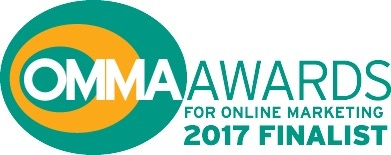 OmmaAwards for online marketing 2017 finalist