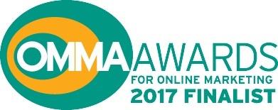OmmaAwards for online marketing 2017 finalist